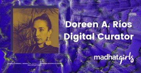 doreen rios digital art community podcast